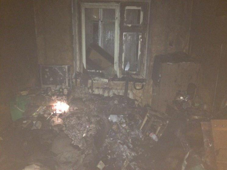 На запорізькому курорті під час пожежі з…