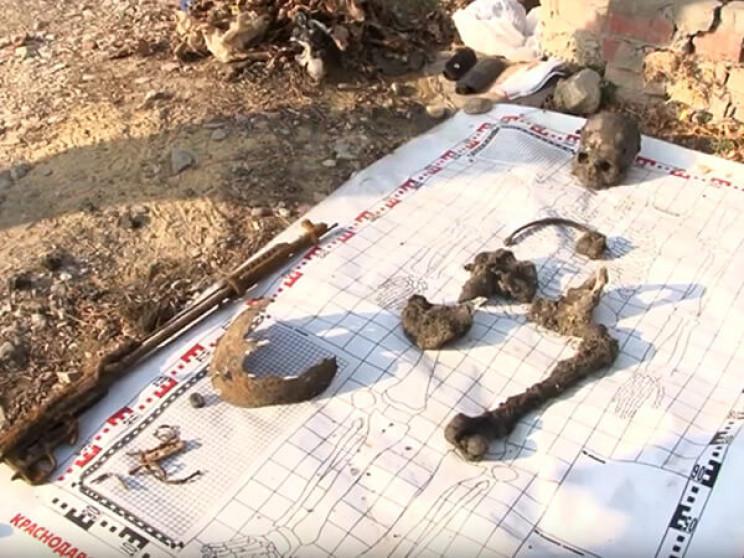 У Кримську найдені людські залишки під ч…