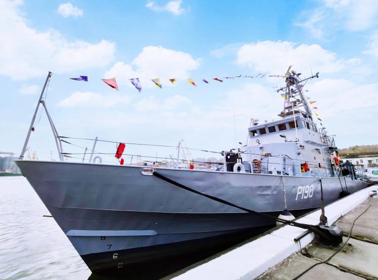 Українські ВМС отримали два патрульних к…