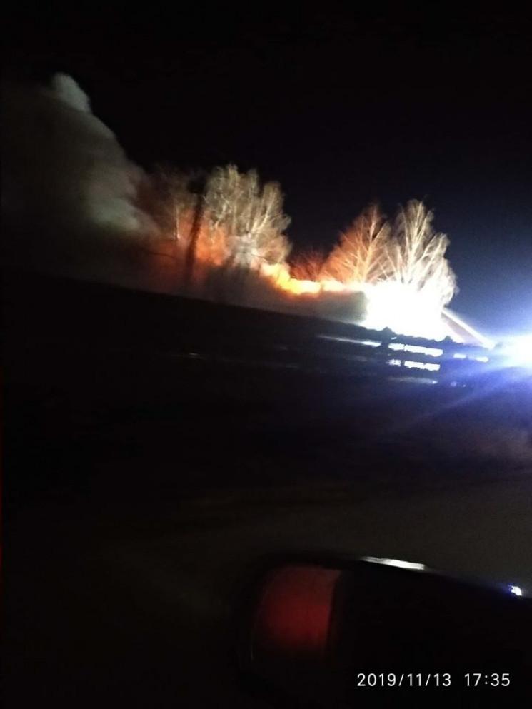 В Винницкой области произошел пожар на т…