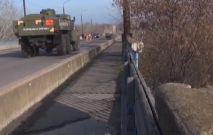 "На Луганщине показали ""дорогу смерти"", к…"