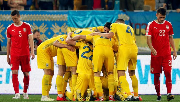 Усі інтриги матчу збірної України з Серб…