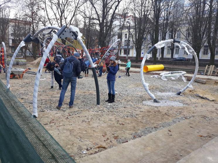 Як будівельний майданчик у Хмельницькому…