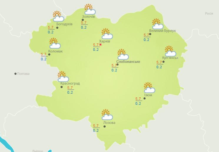 Останні теплі дні: Східний вітер принесе…