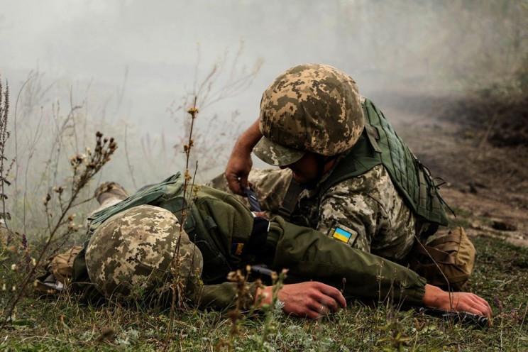 На Луганщині ворог атакував позиції 46-й…