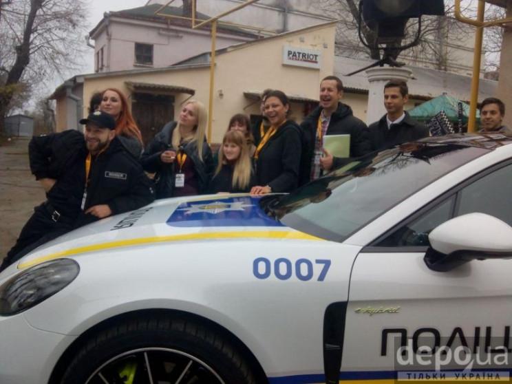 """Копи на """"Порше"""": На Одеській кіностудії…"""