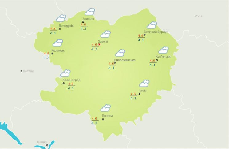 На Харківщині синоптики не обіцяють опад…