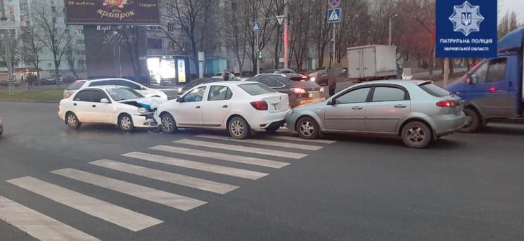 У Харкові три авто не поділили проспект…