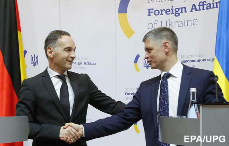 Донбас в обмін на газ: На що Маас натякн…