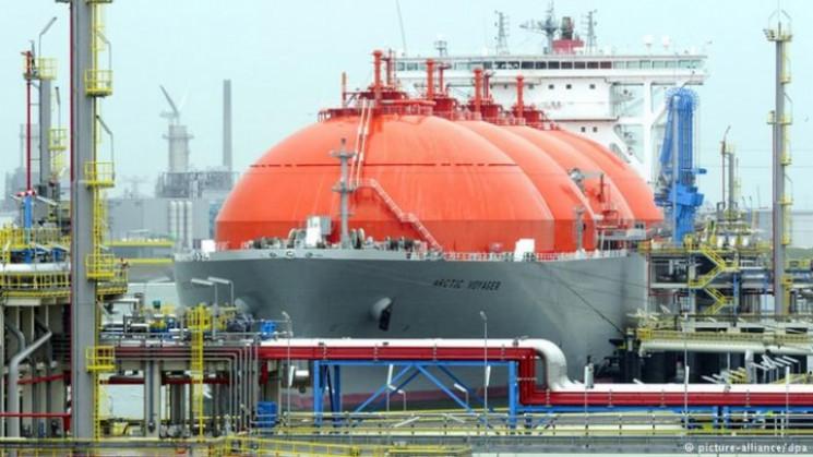 США відправили скраплений газ Україні…