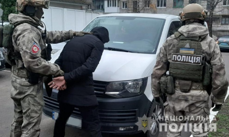 У Житомирі пов'язали росіянина, який був…