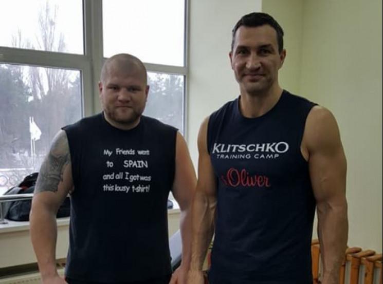 Знаменитого українського боксера зустріч…
