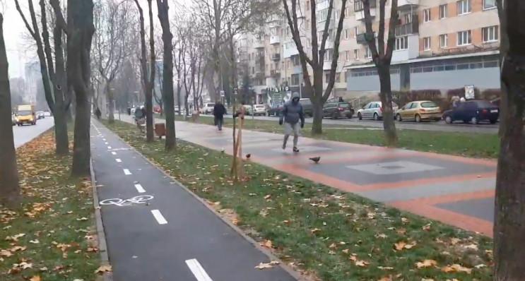 Місто-ковзанка: Вінницю вкрила ожеледиця…