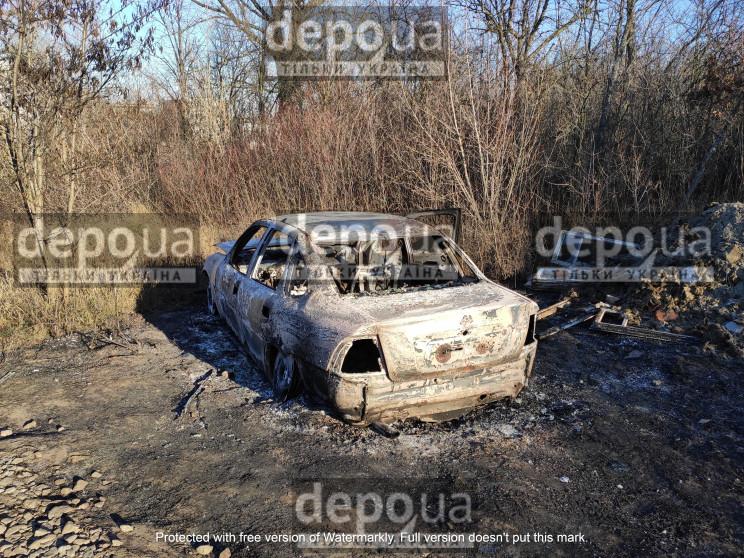 У Харкові автомобіль злочинців, які піді…