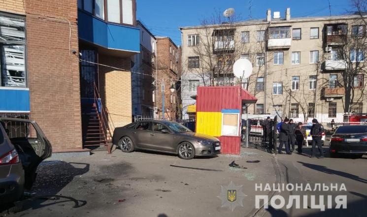 Підрив адвоката в центрі Харкова: Поліці…