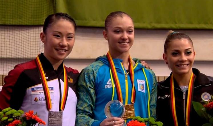Гімнастка з Тернополя Анастасія Бачинськ…