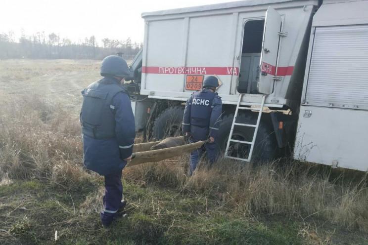 На Харківщині підірвали 100-кілограмову…