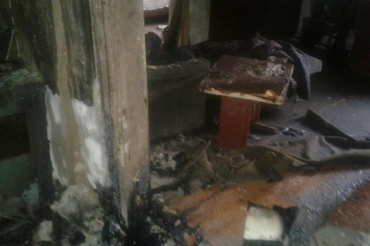 На Харківщині у вогні загинув чоловік…