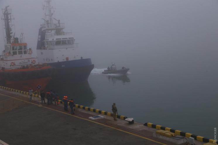 Туман на Одещині блокував роботу портів…