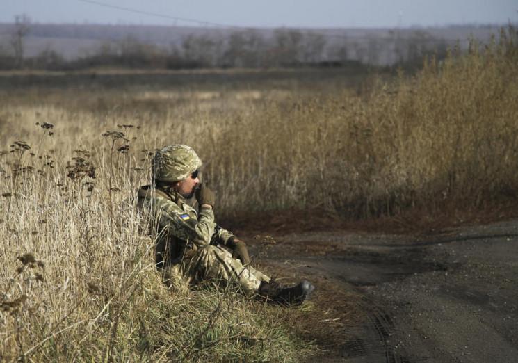 """Видео дня: """"Режим тишины"""" возле Авдеевки…"""