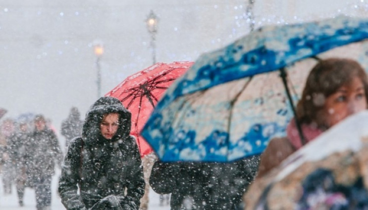 Хмельниччину засипле снігом…