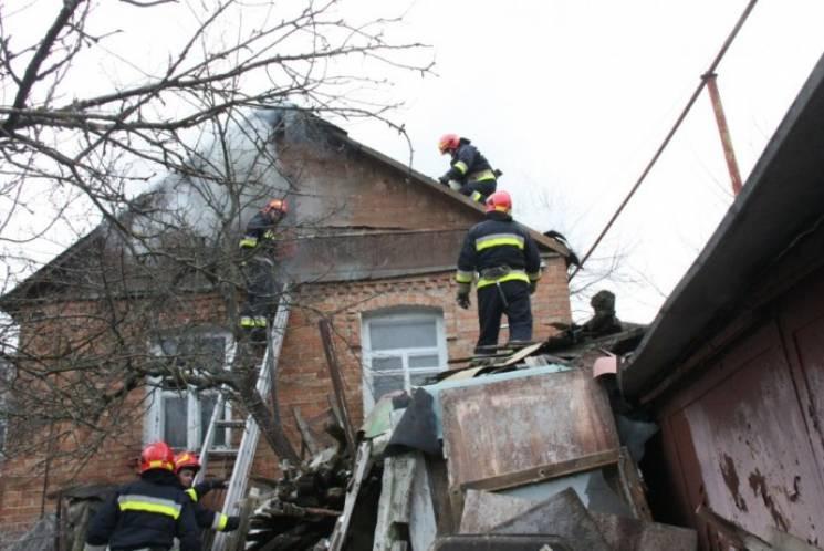 У Крижопільському районі сталась пожежа…