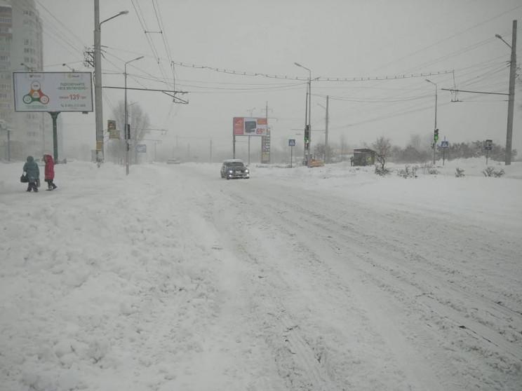 На Полтавщину суне снігова негода: Дорог…