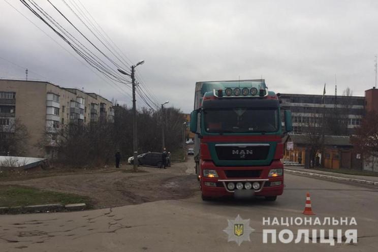 Львів'янин вантажівкою смертельно травму…
