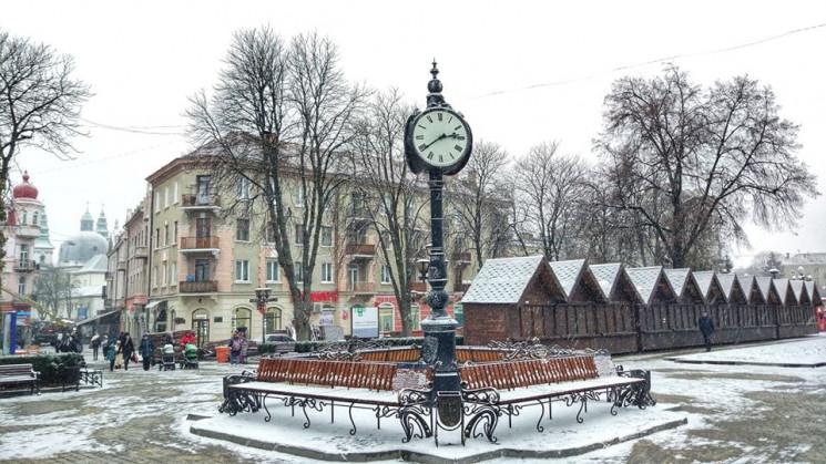 Тернопільщину засипає снігом…