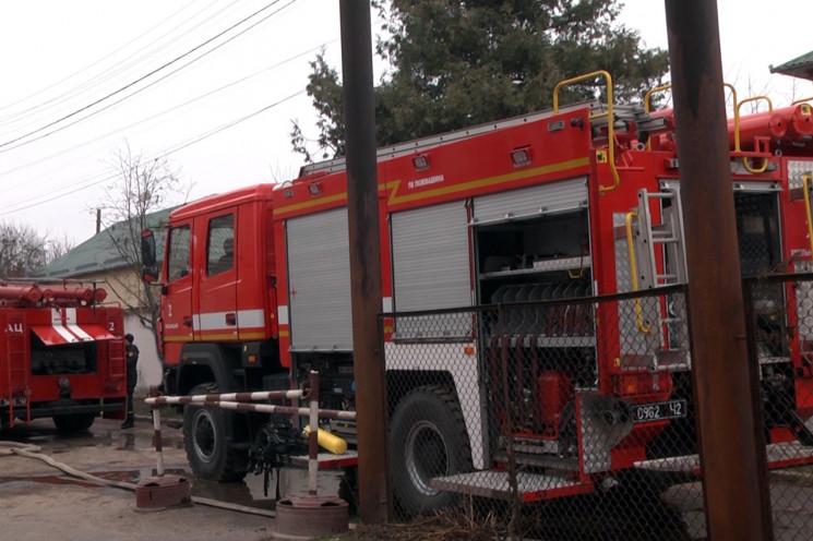 У Хмельницькому рятувальники гасили поже…