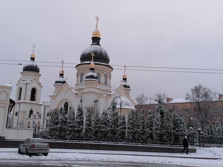 Як у Кропивницькому зустрічають сніжну з…
