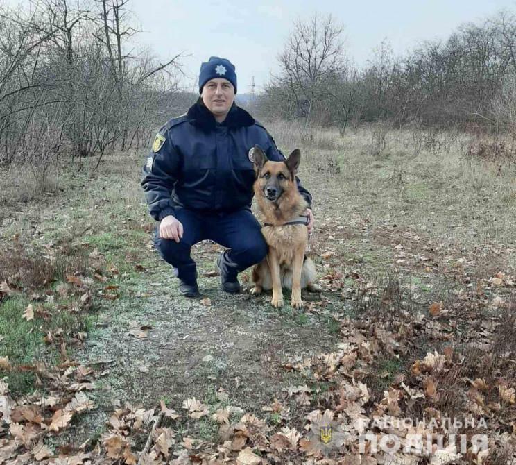 На Кропивниччині собака з поліцією знайш…