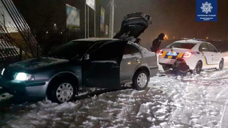 У Кропивницькому машина злетіла з дороги…