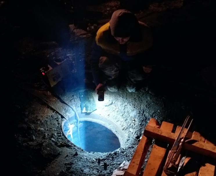 Електрики в Городку пошкодили водопровід…