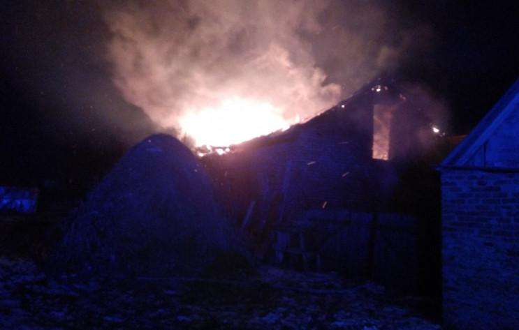 На Сокальщині загасили пожежу (ФОТО)…