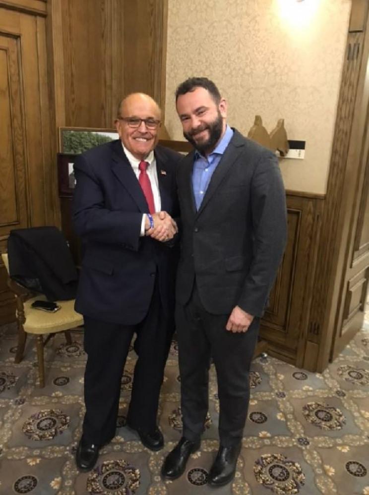 Дубінський зустрівся з адвокатом Трампа…