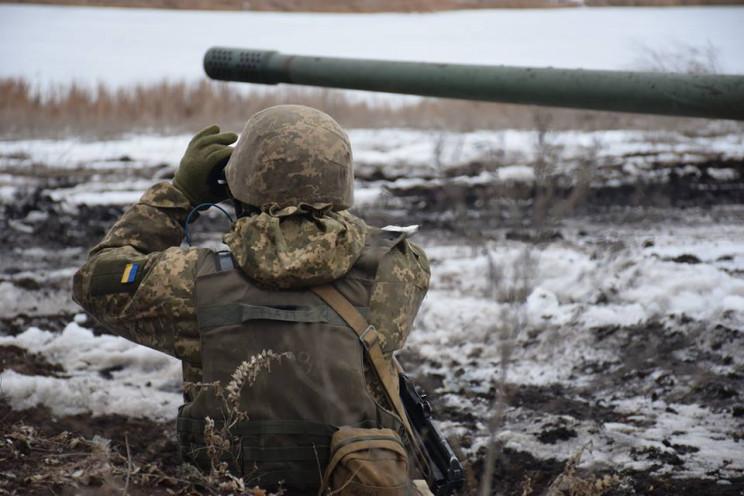 """Вчера боевики семь раз срывали """"тишину"""",…"""
