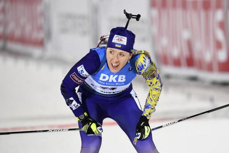 Лидер биатлонной сборной Украины Юлия Дж…