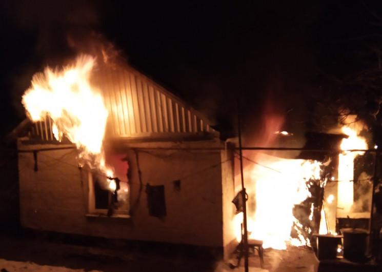 У Кропивницькому з пожежі госпіталізувал…