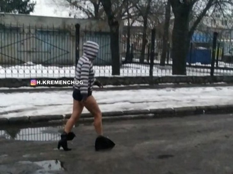 Новый тренд зимы: В Кременчуге на Полтав…