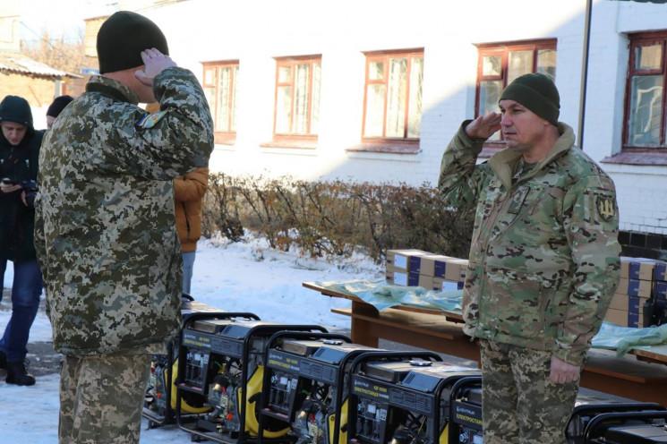Полтавським військовим вручили нове обла…