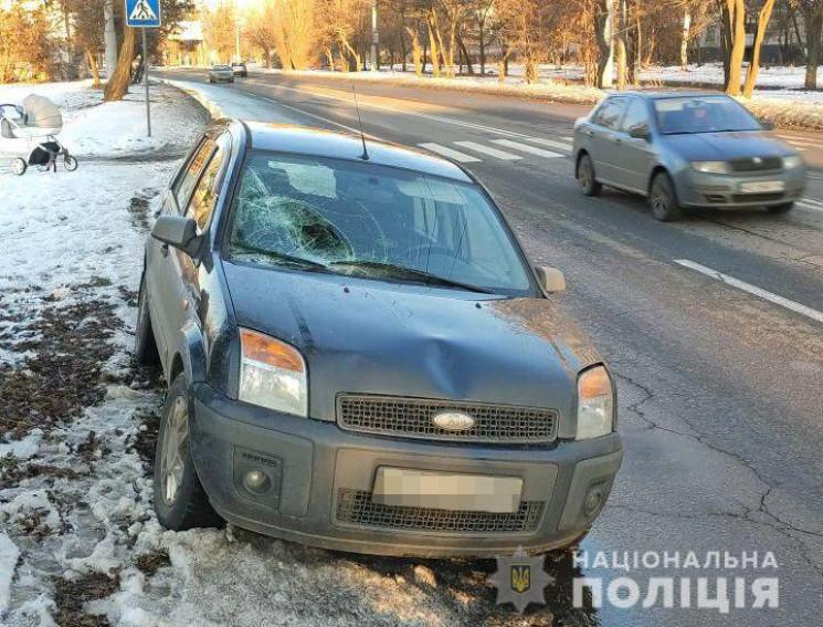 В Харькове водитель Ford сбил мужчину с…