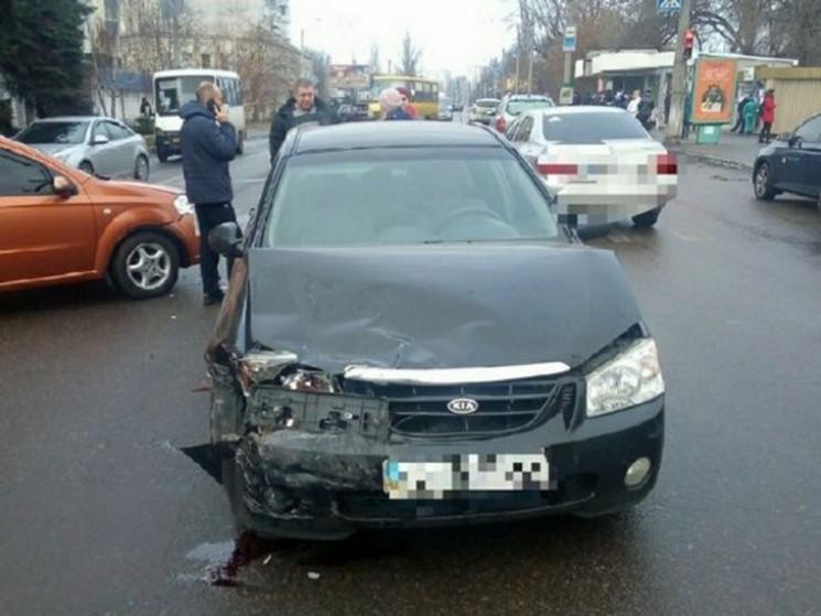 На Полтавщине в Кременчуге произошло ДТП…