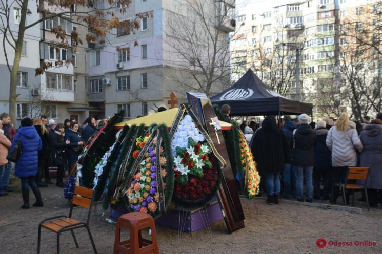 В Одессе похоронили преподавательницу ко…