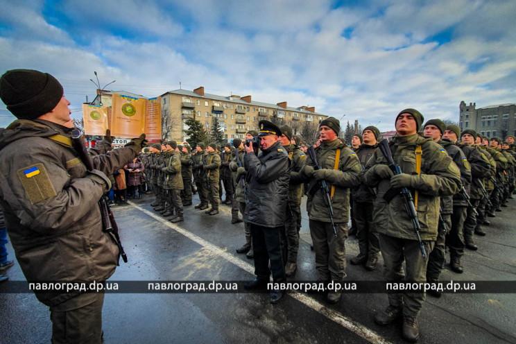 Як на Дніпропетровщині нацгвардійці масо…