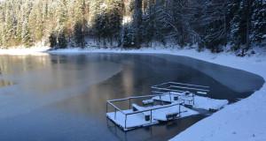 Синевир зимовий: Як мороз сковує береги…