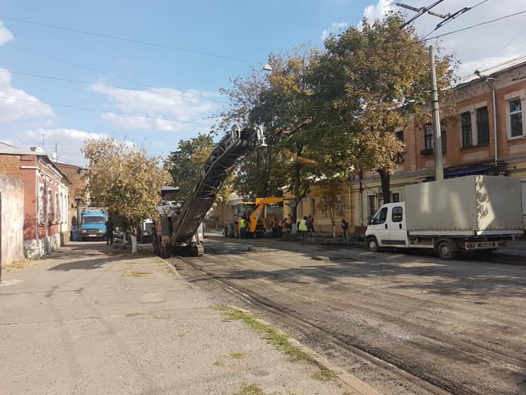 Фейковий ремонт вулиць в Харкові: Слідчі…