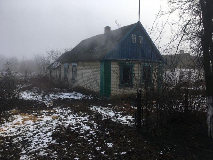 На Запорожье горел частный дом…
