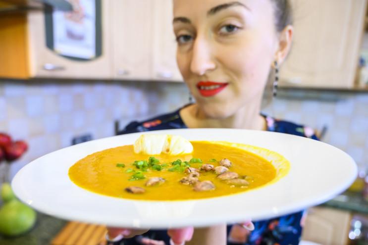 Depo.Кухня: Готовим тыквенный крем-суп с…