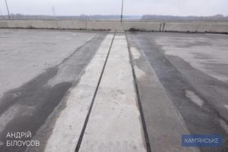 У Кам'янському відремонтували мост через…